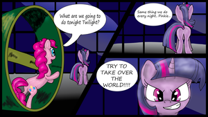 NATG Day 18 - Pinkie and the Twilight by Shadowbolt82