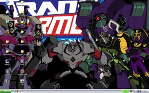 Transformers Animated Desktop by raidwing