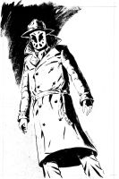 Rorschach Commission, Line Art by FrankReynoso