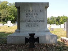 Confederate Grave V by BlutEisen