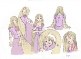 Rapunzel Comission by petrop92