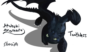 Toothless again by ConkerTSquirrel