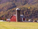 Farm At The Base Of The Mountain by jim88bro