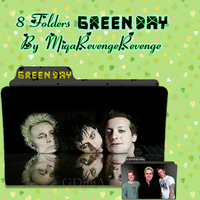 Folders Green Day by MiqaRevengeRevenge