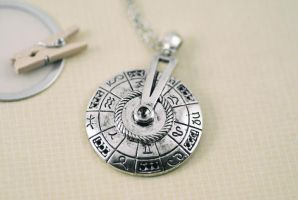 Astrology Necklace by MonsterBrandCrafts