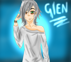 [Art Trade part] GLEN. by TrashRaccoon