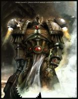 Chaos Space Marine by SonicKyle1797