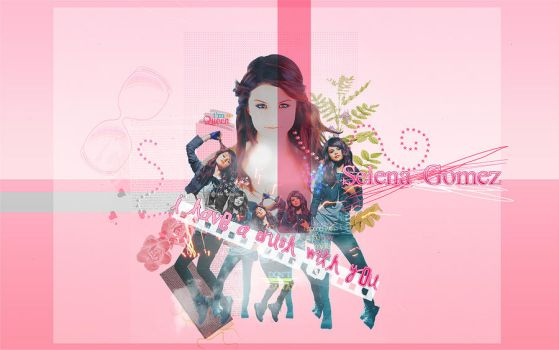Selena Gomez wallpaper 3 by telemaniatik