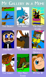 My Gallery in a Meme by BlackRayquaza1