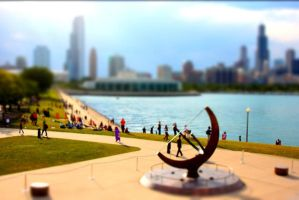 Chicago Tilt Shift 3 by hapadesign