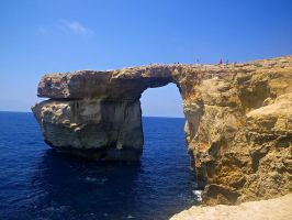 Azure Window by LadyFromNightmare
