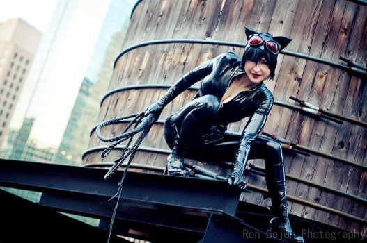 9 Lives - Catwoman by Mostflogged