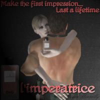 l'imperatrice Perfume Ad by IamRinoaHeartilly