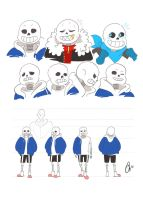 Sans reference sheet by Ketchupberry
