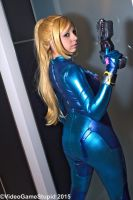 Katsucon 2015 - Zerosuit Samus(PS) 12 by VideoGameStupid