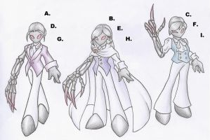 Possible Designs for Venalis the Corrupter(CLOSED) by ssbbforeva