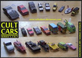 Cult Cars - Series 1-3 by mikedaws