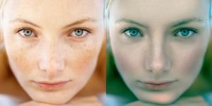 Photoshop Retouching by Guile93