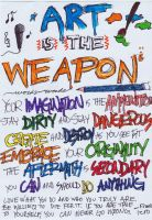 Art Is The Weapon by livin4linkinpark