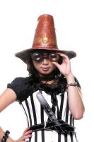 Witch Hunter Hat and goggles by Leatherfanshop