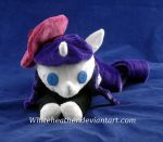 Beanie Beatnik Rarity Plushie: Front View by WhiteHeather