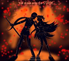 SM: We share only the STAGE by hana-dawn