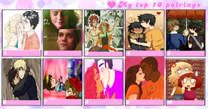 Top 10 Fave PjatO Couples (w/ HoO)~! by percabethshipper22
