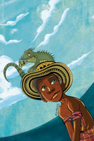 +Jacinto and the iguana+ by IVANPS