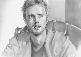 Jesse Pinkman by dandyintheunderworld