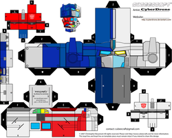 Cubee - Optimus Magnus by CyberDrone