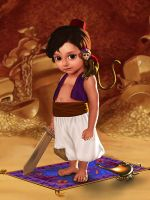 Little Aladdin by LeoNeal-CP