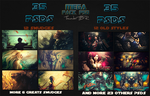 Mega pack PSD-ThunderBR by ThunderBR
