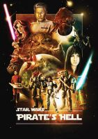 Star Wars - Pirate's Hell poster by HunDrenus