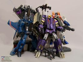 Blitzwing and gang by WheelJack-S70