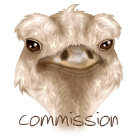 Ostrich Commission - DO NOT USE by r0se-designs