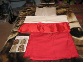 Slifer Red Jacket--Fabric by DaughterofLondon