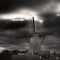 the windmill by VaggelisFragiadakis