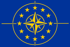 Flag of the European Defensive League Version 2 by MTT3008