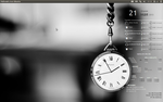 CAI Clock Conky for Ubuntu (1280x800) by CAI79