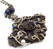 Passage Necklace no. 108 by sojourncuriosities