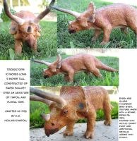 Sculpture: Triceratops by NetRaptor