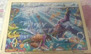 Shimmering Seas puzzle by ElectricKitty1023