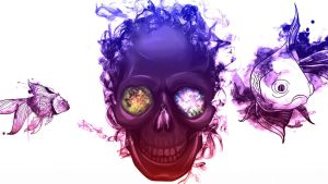 Prophetic Skull by TOXICVADER