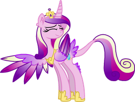 Princess Cadance Unique Style by StarryOak