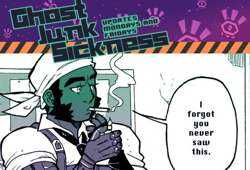 Ghost Junk Sickness CH8-- Page 31 update! by spacerocketbunny