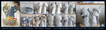 Work in Progress - Celestia and Luna Busts by emilySculpts
