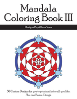 Mandala Coloring Book III Cover by azieser