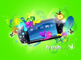 Fresh PSP by vcell