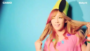 [SC] Taeyeon for Casio Baby-G by imawesomeee03