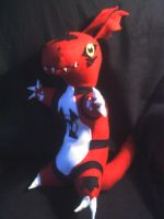 guilmon plush by CaptHansIsMyMaster